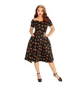 Miss Lulo Bella Dress-Raspberries