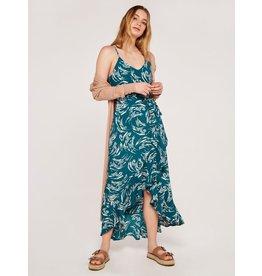 Apricot Joanie Brushstroke Dress