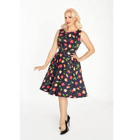 Miss Lulo Ruby Dress-Apples