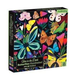 Galison Puzzle- Butterflies Illuminated