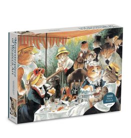 Galison Puzzle- Luncheon of the Boating Party