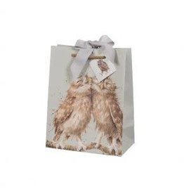 WRENDALE Medium Gift Bag-  Woodlander (Owl)