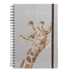 WRENDALE Large A4 HB Journal - Giraffe