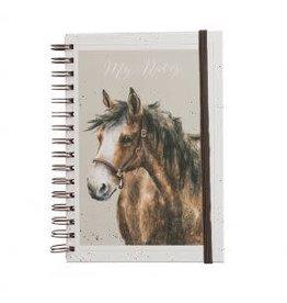 WRENDALE Horse Spiral Bound Notebook - Spirit