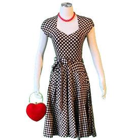 Effie's Heart Hedy Dress Etched Dot Print