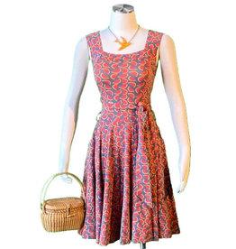 Effie's Heart Dolce Vita Dress Melon Print