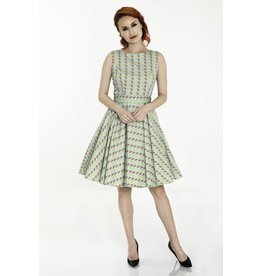 Miss Lulo Diana Melon Dress