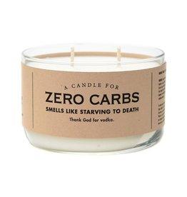 Whiskey River Soap Co. Candles-Zero Carbs