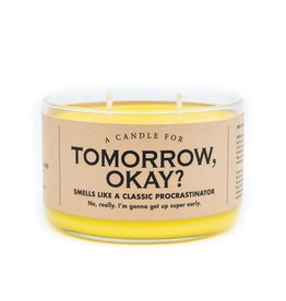 Whiskey River Soap Co. Candles-Tomorrow OK