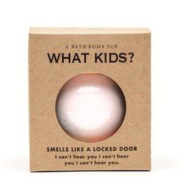 Whiskey River Soap Co. Bath Bomb What Kids