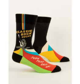 Blue Q Men's Socks-Classic Rock Socks