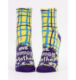 Blue Q Ladies Ankle Socks-One Tough Mother