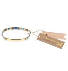 Scout Good Karma Bracelets Strength&Grace Gold