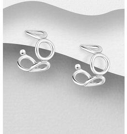 Sterling Sterling Silver Circle Hoop Earrings
