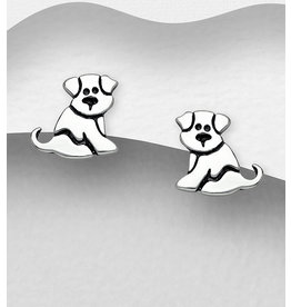 Sterling Studs-Sitting Puppy