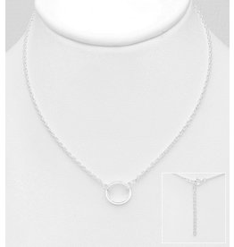 Sterling Sterling Circle Necklace