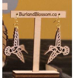 Burl & Blossom Hummingbirds in Maple