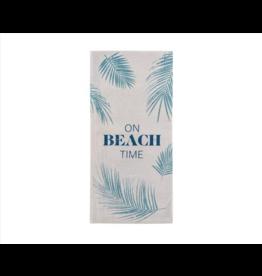 Karma Tea Towel-Beach Time