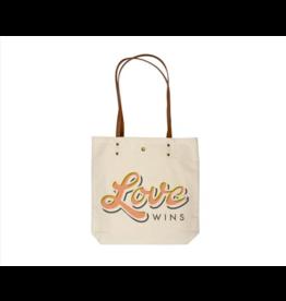 Karma Canvas Book Bag Love