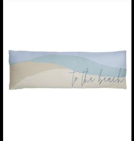 Karma Long Lumbar Pillow-Beach and Back