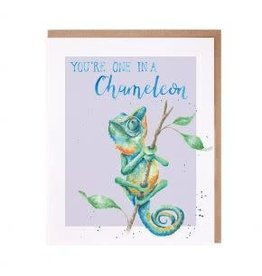WRENDALE Card-One in a Chameleon