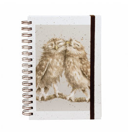WRENDALE Spiral Bound Notebook - Owl-Birds of a Feather