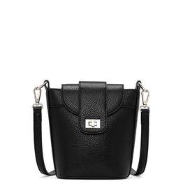 CoLab Dani Small Bucket Bag - Black