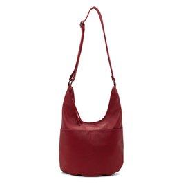 CoLab Brigitte Hobo Bag-Tomato