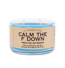 Whiskey River Soap Co. Candle-Calm The F Down