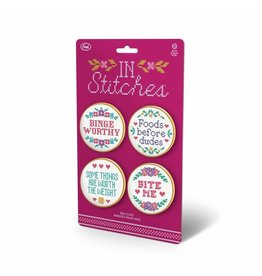 Fred Bag Clips S/4-In Stitches