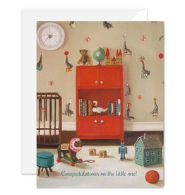 Janet Hill Studio Congratulations New Baby Card