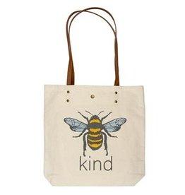 Karma Canvas Book Bag Bee Kind