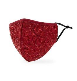 WeddingStar Adult Face Mask - Ruby Red