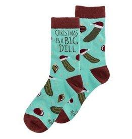 Karma Holiday Socks-Big Dill