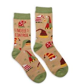 Karma Holiday Socks-No Elf Control