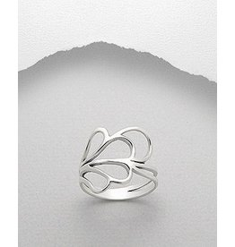 Sterling Ring- Abstract