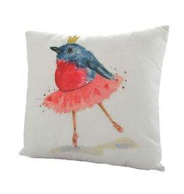 Nostalgia Import Pillow - Ballerina Birdie
