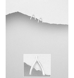 Sterling Studs- Wishbone