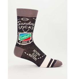 Blue Q Men's Socks-Sunday