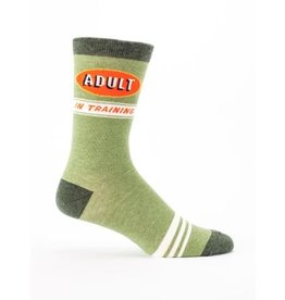 Blue Q Men's Socks-Adult in Training