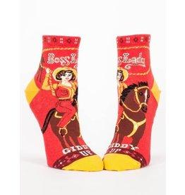 Blue Q Ladies Ankle Socks-Boss Lady
