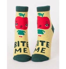 Blue Q Ladies Ankle Socks- Bite Me