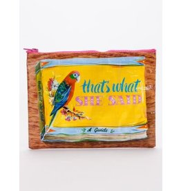 Blue Q Zipper Pouch- That's What She Said