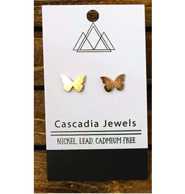 Cascadia Jewels Studs- Butterflies