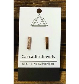 Cascadia Jewels Studs- Bars