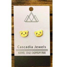 Cascadia Jewels Studs- Pandas