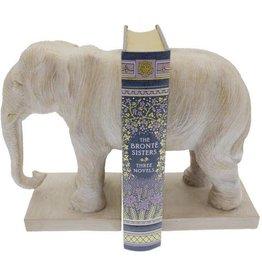 Streamline Elephant Bookend Set