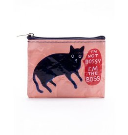 Blue Q Coin Purse-I'm not Bossy
