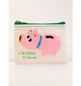 Blue Q Coin Purse-Change is Good