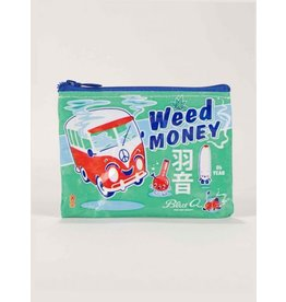 Blue Q Coin Purse-Weed Money